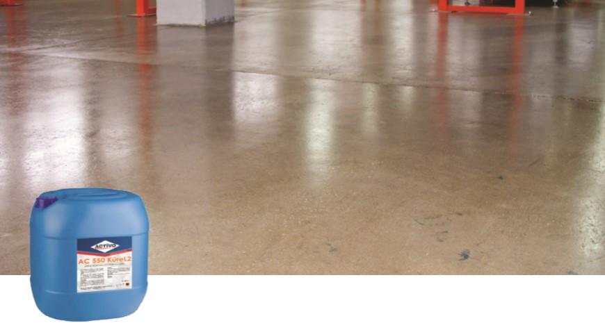 Akrilik Reçine Esaslı Beton Kür Malzemesi AC 550 KÜRE L2