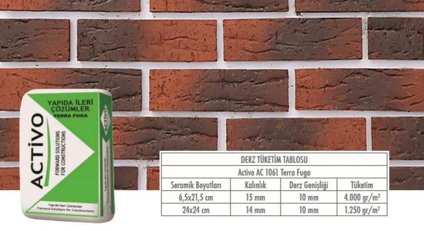 Tuğla ve Doğaltaş Derzi 3-20 mm AC 1061